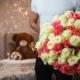 Bouquet-rose-miste-colorate
